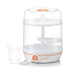 electronic baby bottle sterilizer / microwave / with dryer