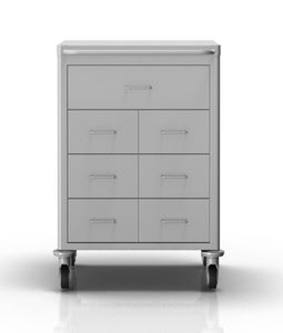 anesthesia trolley / transport / with drawer
