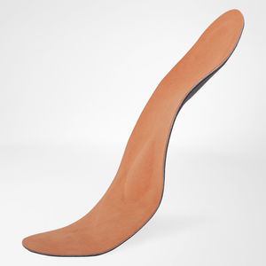 orthopedic insole with heel pad / with longitudinal arch pad / adult / for flat feet