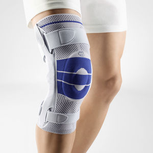 knee orthosis / with patellar pad / with flexible stays