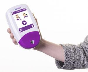 nitrogen monoxide breathing monitor / electronic