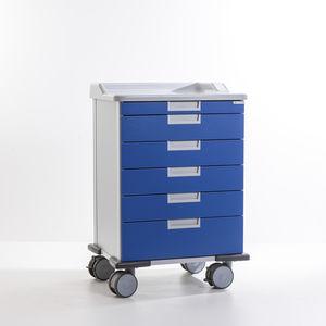treatment trolley / storage / medication / medical