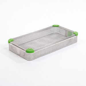 instrument sterilization tray / stainless steel