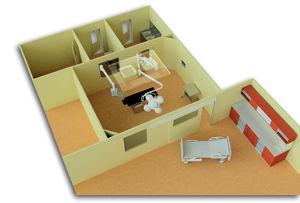 laboratory room / radiology room / sterilization room / modular
