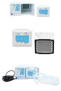 electrosurgical unit smoke aspirator / tabletop / compact