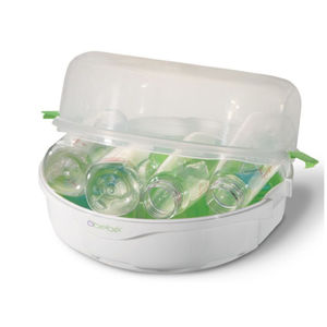 microwave baby bottle sterilizer
