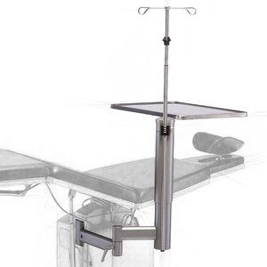 table-mounted IV pole