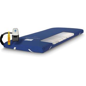 hospital bed mattress overlay / static air / with air pump / anti-decubitus
