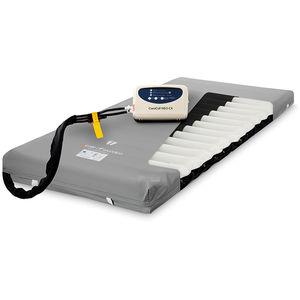 hospital bed mattress overlay / alternating pressure / polyurethane / anti-decubitus