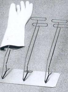 wall-mounted X-ray glove rack