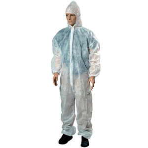 protective coveralls / unisex / disposable