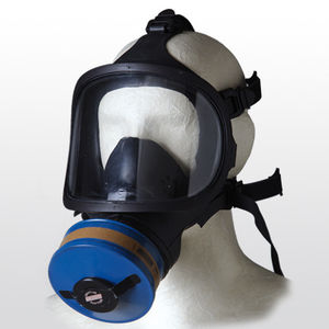 respirator with changeable filters / with eye protection / with exhalation valve / medical