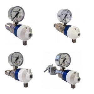 oxygen pressure regulator / with flow selector