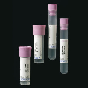 cylindrical collection tube