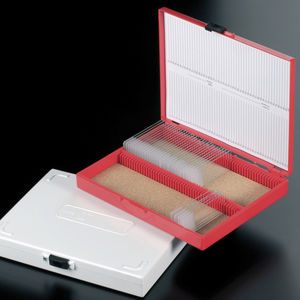 microscope slide box / storage / stackable