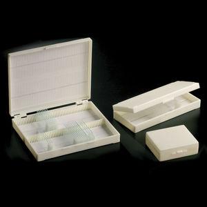 microscope slide box