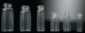 laboratory vial / borosilicate glass