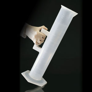 polypropylene measuring cylinder / graduated / autoclavable