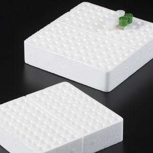 laboratory microtube rack / polystyrene