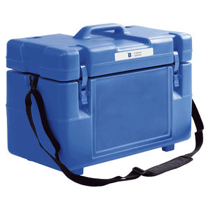 blood bag container / for biological samples / transport / temperature-controlled
