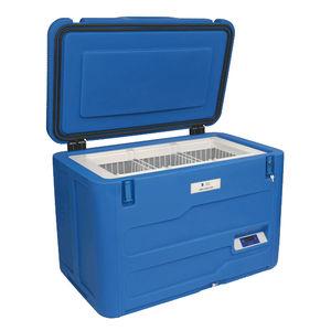 blood bank refrigerator / chest / solar-powered