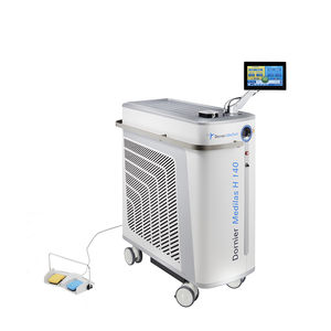 lithotripsy laser / prostate enucleation / holmium / trolley-mounted