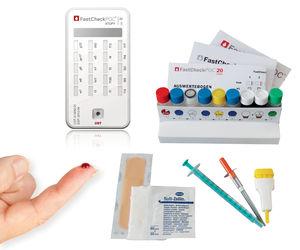 sIgE rapid diagnostic test / allergy / blood / ELISA