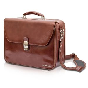 doctor's bag / shoulder strap / leather / isothermal