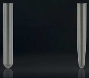 laboratory test tube / conical / polypropylene / disposable