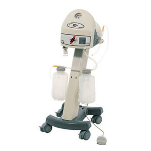 electric surgical suction pump / for gynecology / on casters