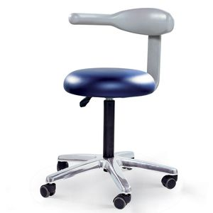 healthcare facility stool / height-adjustable / rotating / folding