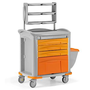transport trolley / storage / for instruments / for medicine