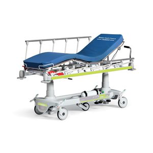 transport stretcher trolley / hydraulic / height-adjustable / ergonomic