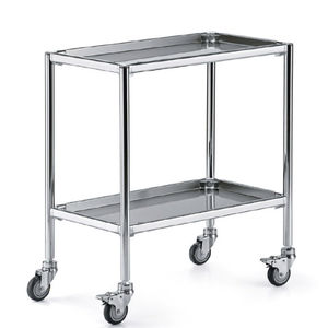 service trolley / for instruments / 2-tray
