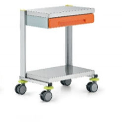transport trolley / multi-function / 1-drawer