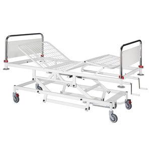 medical bed / hospital / manual / hydraulic