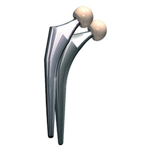 primary hip prosthesis / cemented