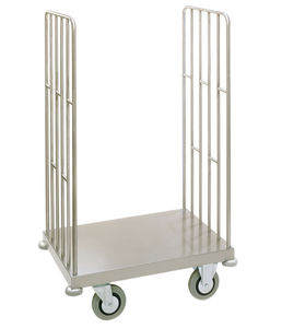 multi-function trolley / transport / trash can / stainless steel