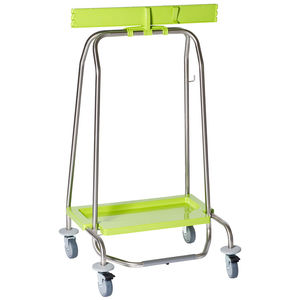 cleaning trolley / waste / with waste bag holder / 1-bag