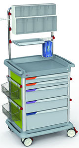 multi-function trolley / anesthesia / transport / for medicine