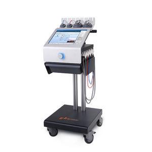 electric stimulator / ultrasound diathermy unit / trolley-mounted