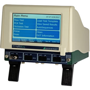 infusion pump analyzer / compact / modular / with touchscreen