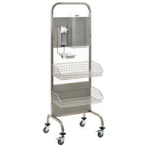 hygiene station on casters