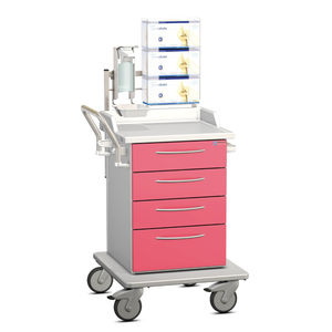 multi-function cart / for general purpose / with drawer / for humans