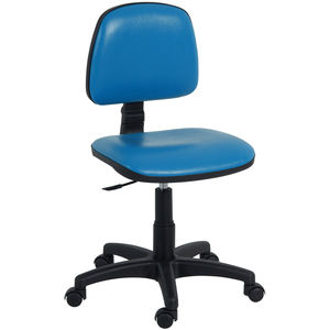 doctor's office stool / height-adjustable / rotating / pneumatic