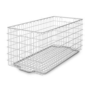 instrument sterilization basket / stainless steel / perforated / wire