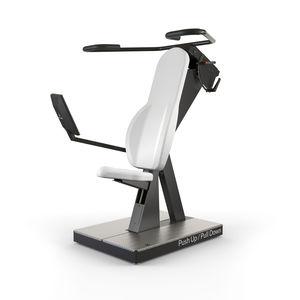 shoulder press gym station / lat pulldown / rehabilitation