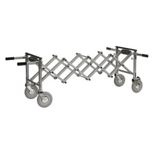 mortuary trolley / coffin / extendable