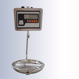 electronic autopsy weighing scales / with LCD display / hanging / compact