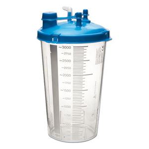medical suction pump jar / polycarbonate / disposable